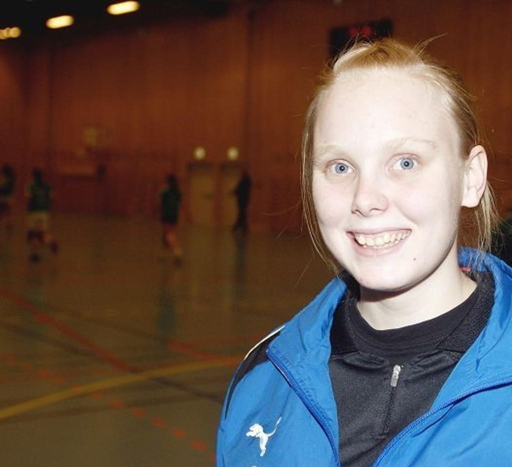 Cupleder Helene Sandvold (18) fra Ulsrud vgs.