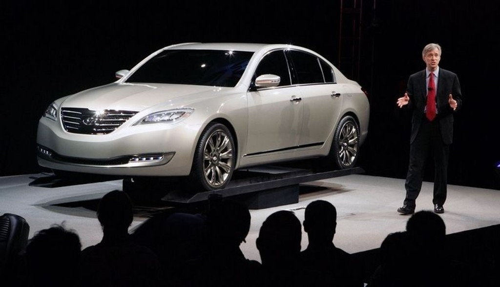 NY: Hyundai Genesis.