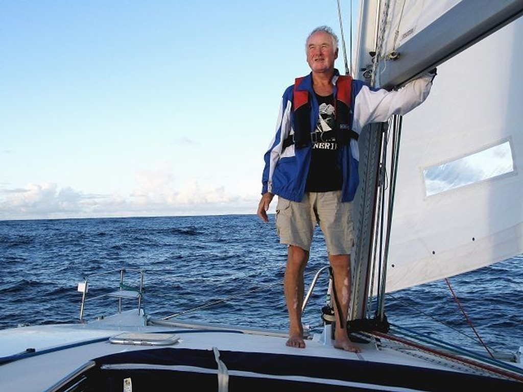 Roar Baust hadde litt av en opplevelse med «Queen og Hearts», da båten deltok på Atlantic Rally for Cruisers på slutten av fjoråret. FOTO: PRIVAT