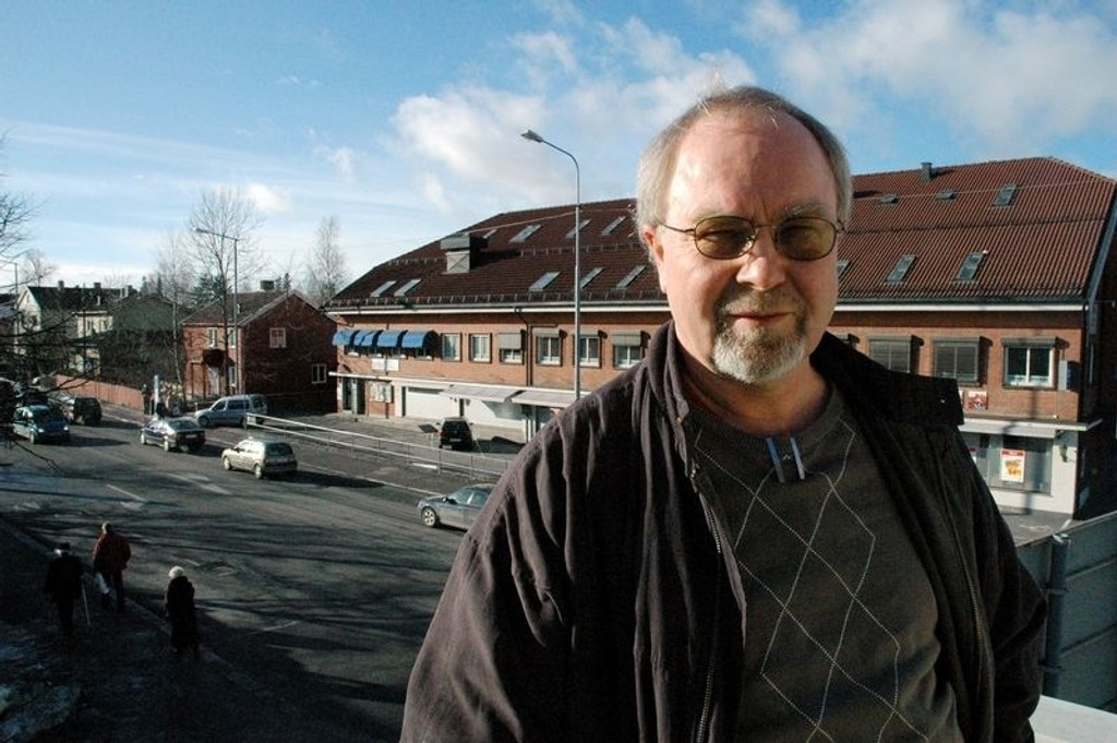- Bli med å gå med bøsse, sier Svein Eriksen. Foto: Ida Schmidt Nygaard