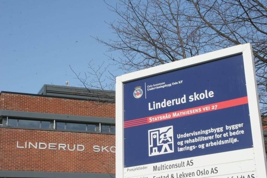 Flere skoler, blant annet Linderud skole, melder om gjentatte hendelser hvor elever har skadet seg selv og angrepet lærere.