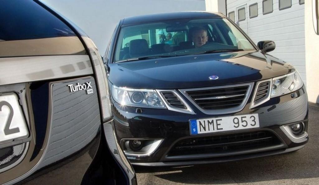 RÅDYR: Saabs første egenutviklede firehjulstrekker blir også Saabs dyreste bil noen sinne i Norge. (Foto: Øivind Skar)