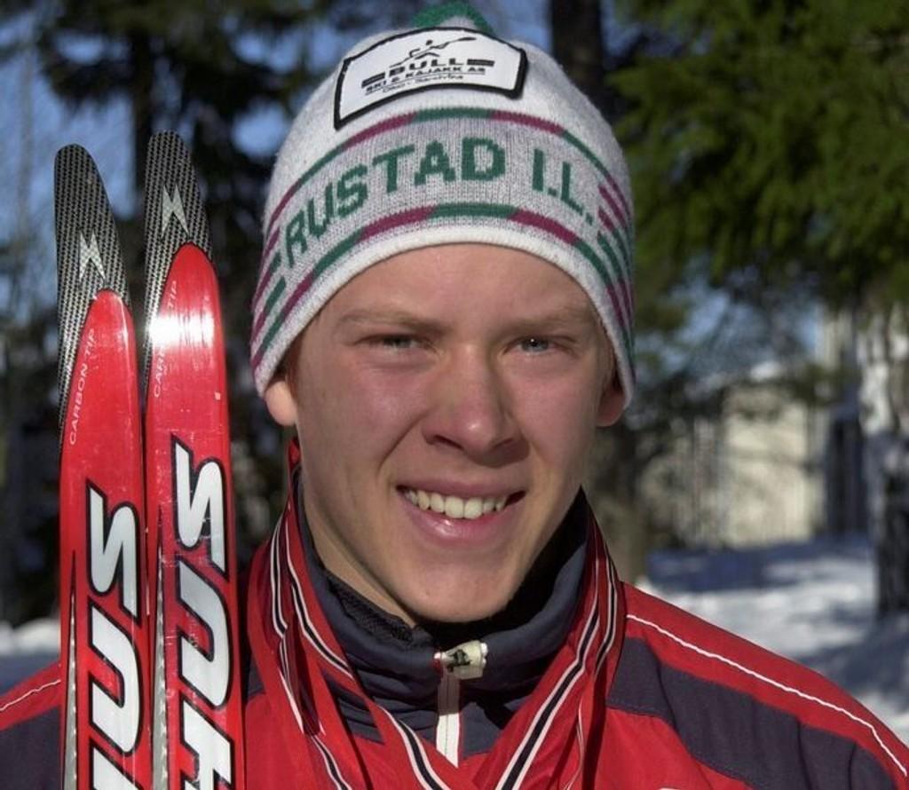 Anders Gløersen fra Rustad vant i Lahti lørdag.