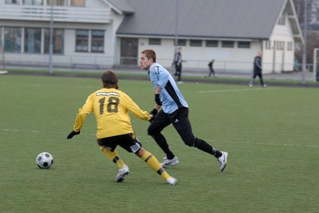Andreas Thorud og MS klarte uavgjort mot Bærum.