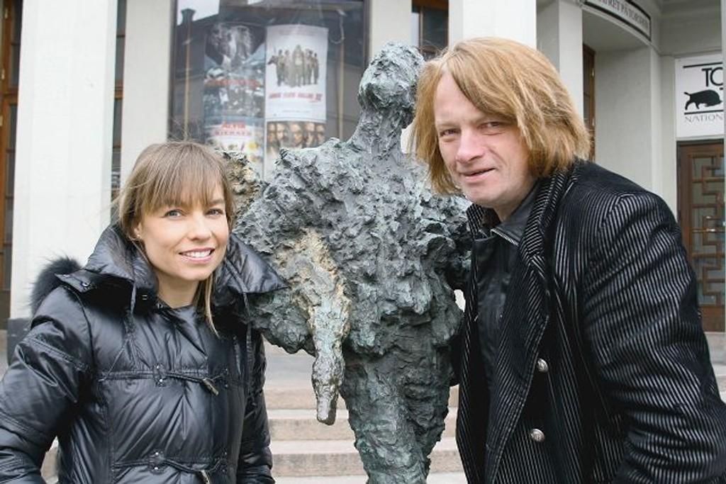 Kaia Huuse og Jan Eggum er opptatt av likevekt i showet Mann av Huuse. Noe annet blir for tøft, tror Eggum.