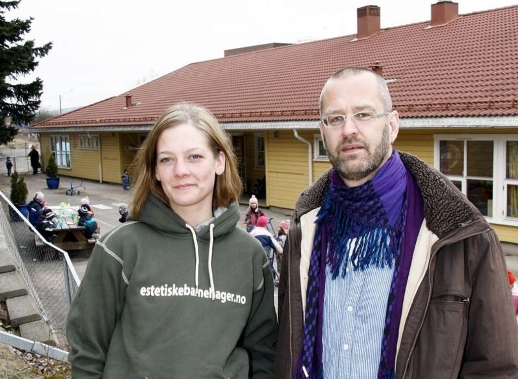 Stine Marie Pedersen og Jan Möstrøm opplever at faglærte velger arbeidssted med høy lønn framfor trivsel.