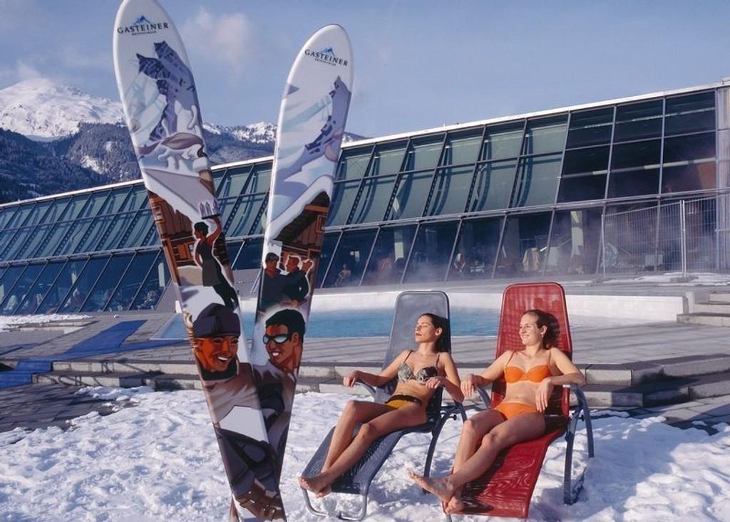 BAD OG SKI: Bad Gastein er det mest populære chartermålet for norske skiturister