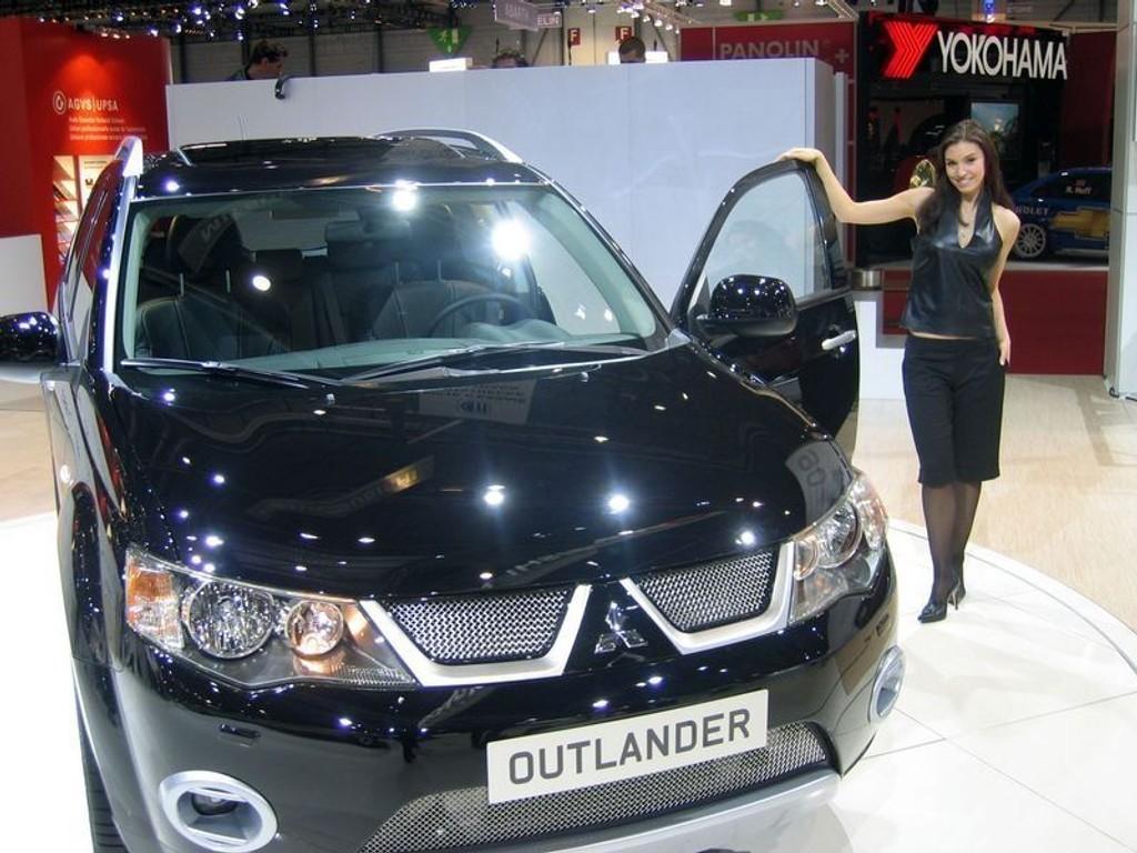 MEST POP: Mitsubishi Outlander.