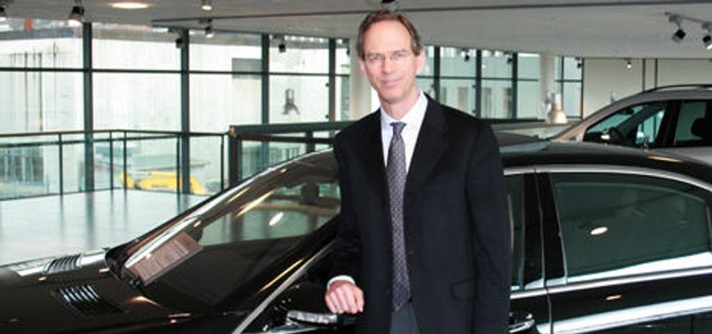 Konsernsjef Marius Steen i Bertel O. Steen tror på vekst innen nyttekjøretøyer og sports- og fritidsutstyr i 2008, til tross for en liten nedgang innen personbiler.