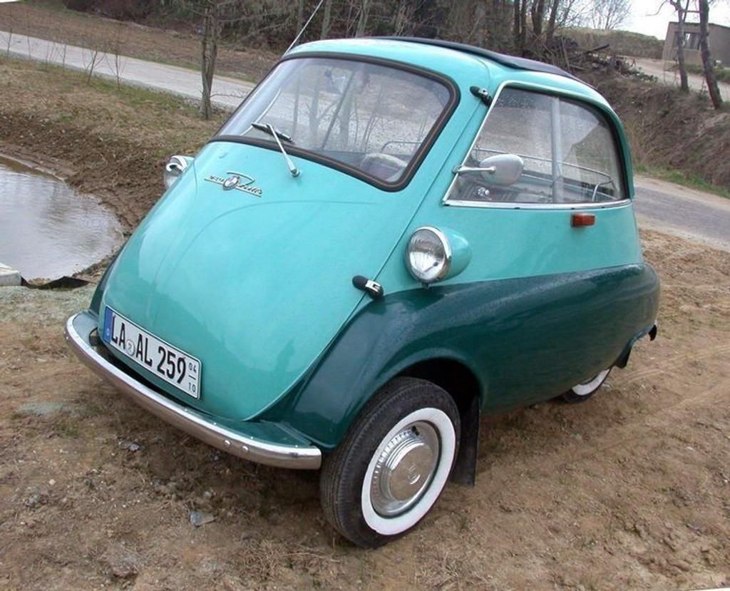 ORIGINALEN: Den originale Isetta.