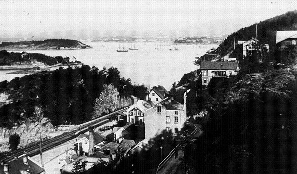 Forfatteren bodde mellom Nedre Bekkelaget og Kongshavn. Bildet er utlånt fra Bekkelaget vel