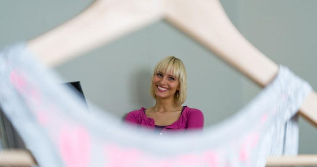 SPORTY OG AVSLAPPET: NRK-sportens Anne Rimmen trives best i søte sporty klær.