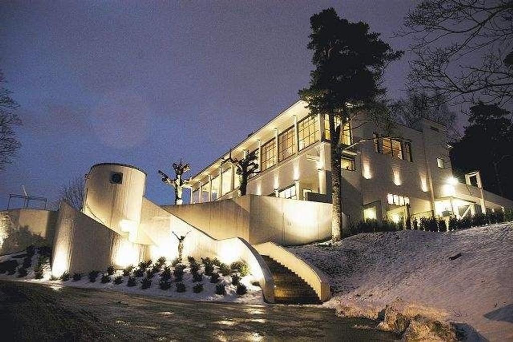 Ekebergrestauranten er like flott om vinteren som sommeren.