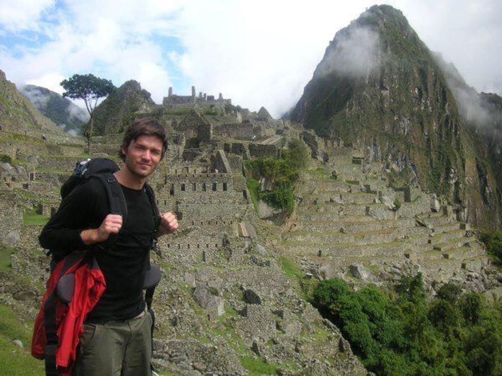 Etter tre dager i Andesfjellene nådde Anders Halvorsen og de andre Machu Picchu.