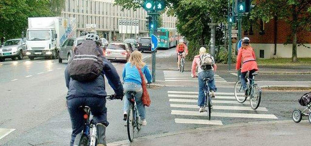 Oslofolk trenger og fortjener flere og bedre sykkelveier. (Foto: Hege Bjørnsdatter Braaten)