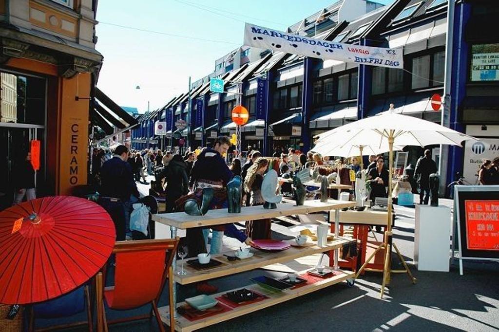 Markedsdagene på Løkka startet i går og varer fram til søndag. ARKIVFOTO