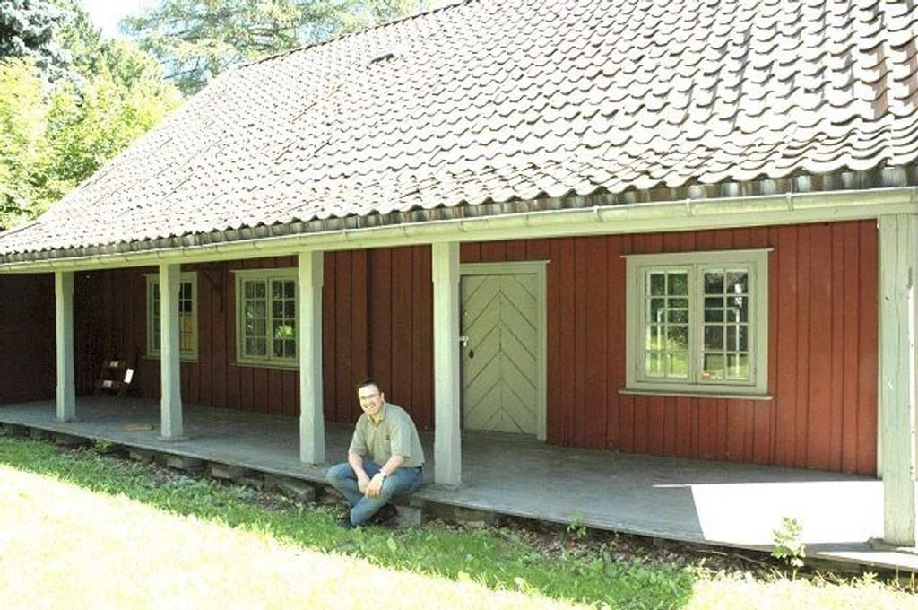 Ap-politiker Trond Jensrud har tidligere foreslått å ta ibruk gamle Gjetemyren gård som barnehage.