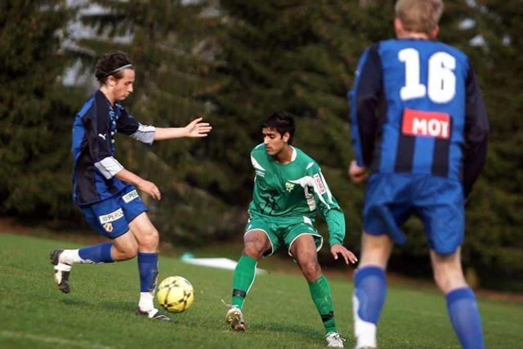 Yassir Bashir var best på MS i seriepremieren mot Stabæk 2.