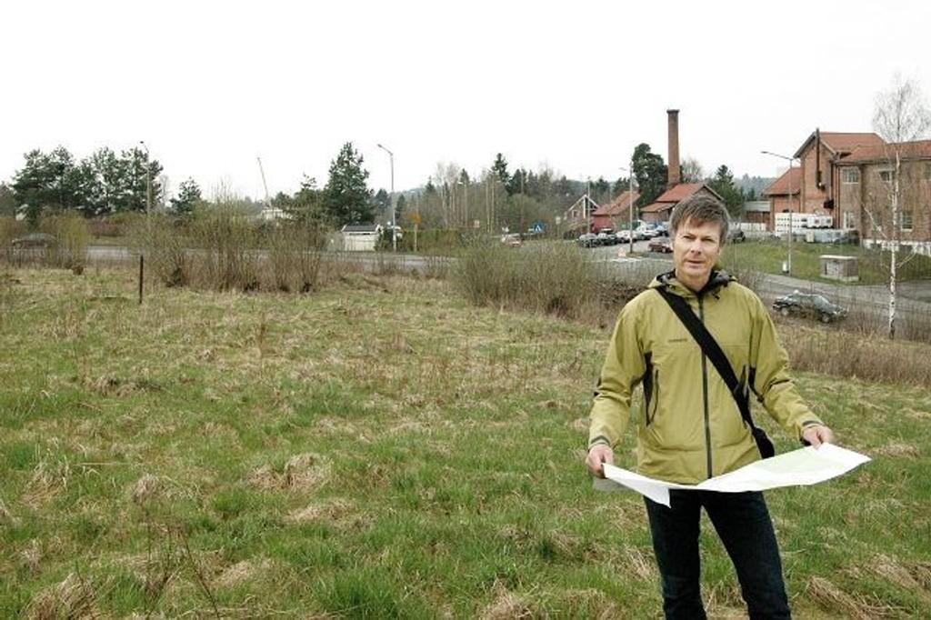 Geir Johnsen håper byggingen av rekkehusene Østensjøenga kan begynne i september.