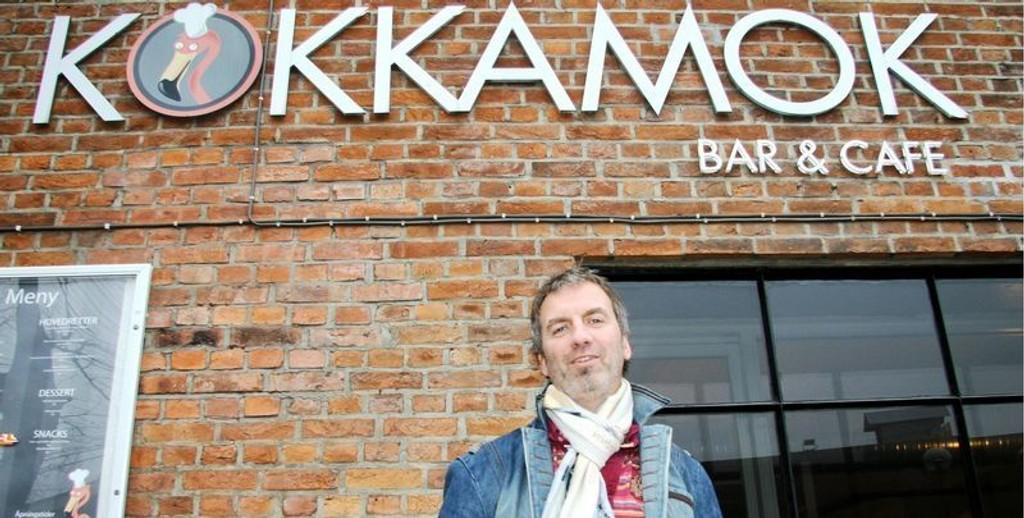 Tommy Olsen fra Kjelsås er en av deleierne i Kokkamok i Nydalen. Uforståelig av Næringsetaten, sier han. Arkivfoto