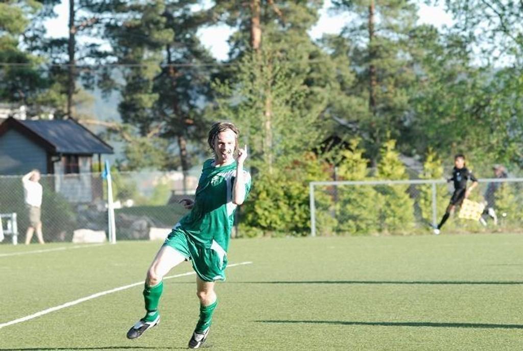 Trond Haugstad gliste bredt etter tre mål og avansement i cupen.