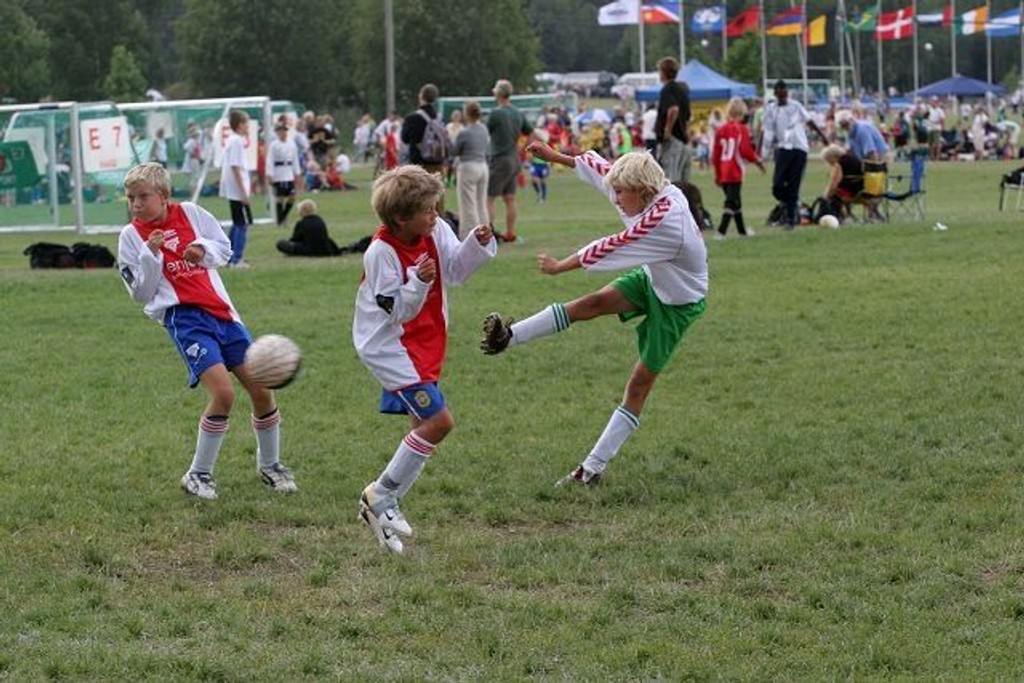 Norway Cup har vært arena for idrettsglede i mange år. Nå har cupen blitt hedret med LOs kulturpris. Arkivfoto: Carina Alice Bredesen