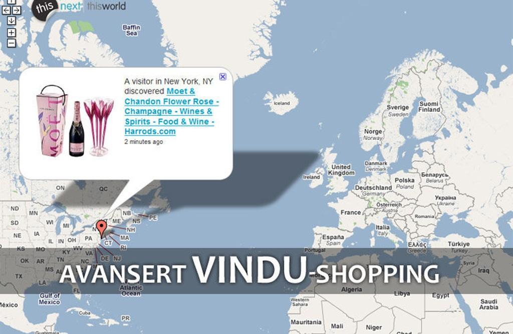 LUKSUS ONLINE: Shopping på nett har tatt av. Nå åpnes det til og med for at «kikkere» kan se hva andre shopper.