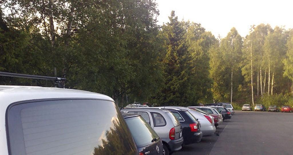 dogging, sognsvann, parkering