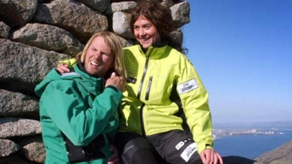 Rolf Bae og kona Cecilie Skog.