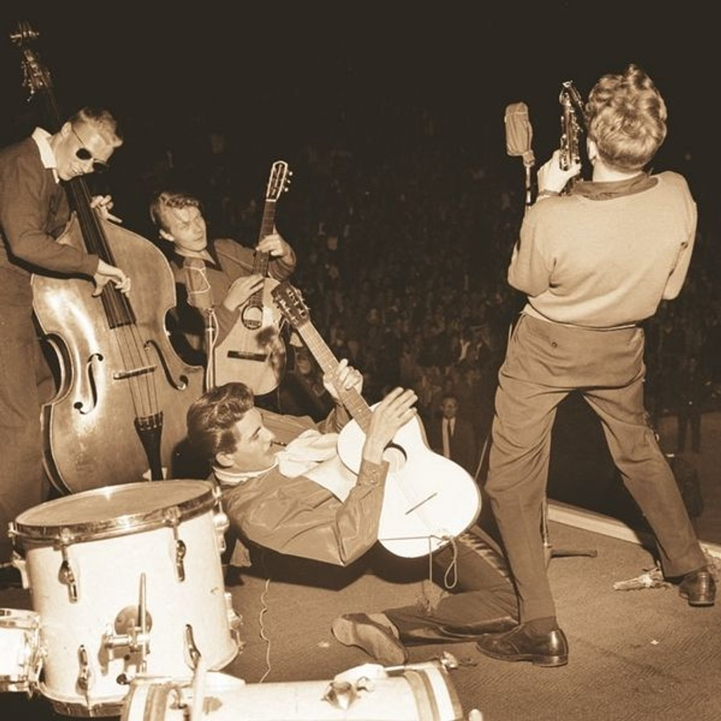 10.000 ungdommer så første utgave av NM i rock på Jordal amfi for 50 år siden.