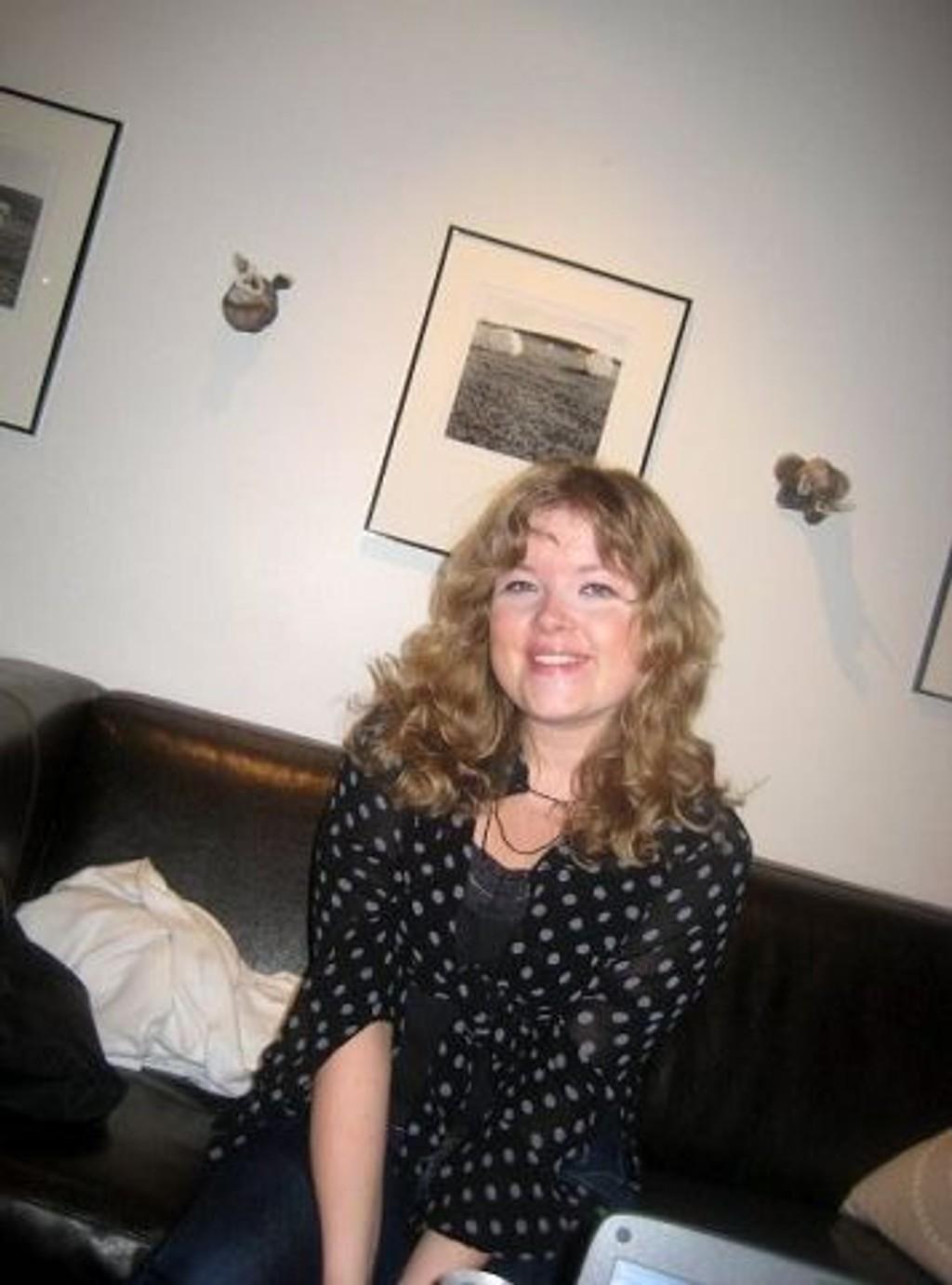 Helén Ingrid Andreassen fra Ulsrud er i Palestina for å skape samarbeid. Foto: AUF Oslo