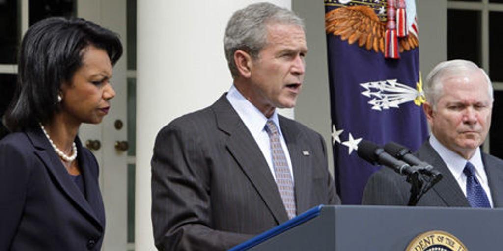 Bush Georgia USA Russland