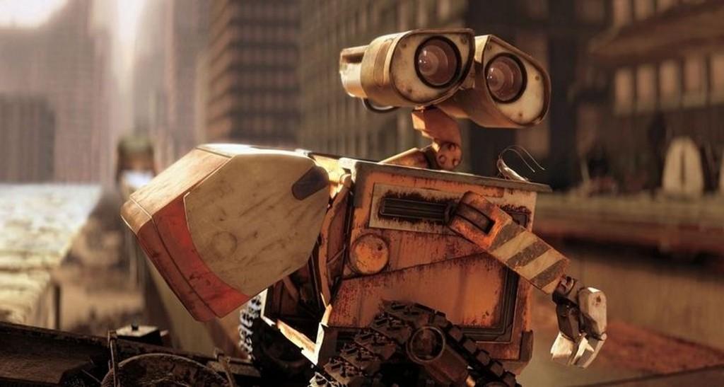 """OPPRYDDING: Selv etter 700 års arbeid, har roboten i animasjonsfilmen """"Wall-E"""" mye jobb igjen før kloden er fri for menneskenes miljøødeleggelser."""