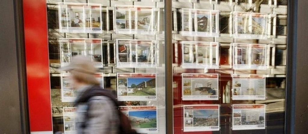 PASSIVT MARKED: Nedgangen i boligmarkedet er om lag 15 prosent så langt i år. (Foto: Harald Nordbakken)