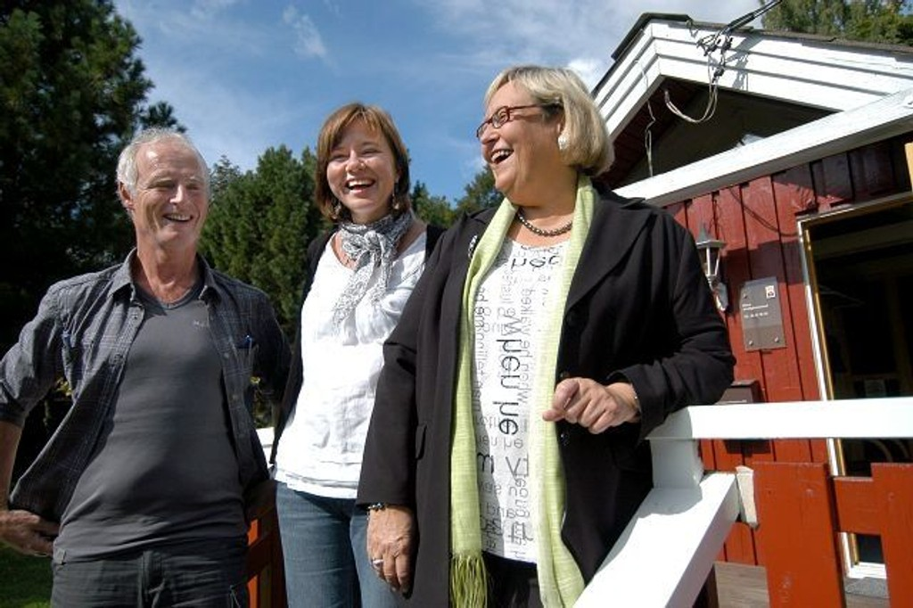 Terje Bjørkto, Grete Framgarden og Esther Marie Lier. foto: elisabeth c. wang