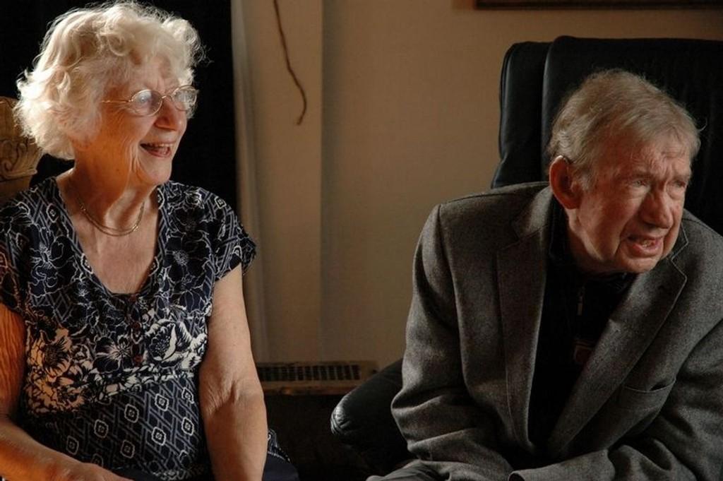Ekteparet Valborg og Knut Styren kunne fritt velge hvem de skulle få hjemmesykepleie fra. Og de angrer ikke. - Vi får ypperlig hjelp, sier de.