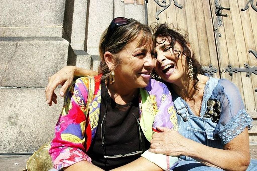 Natasha og Raya Bielenberg inviterer til Iagori-festivalen i Kulturkirken Jakob i helga. Arkivfoto: Kjersti Lerkerød