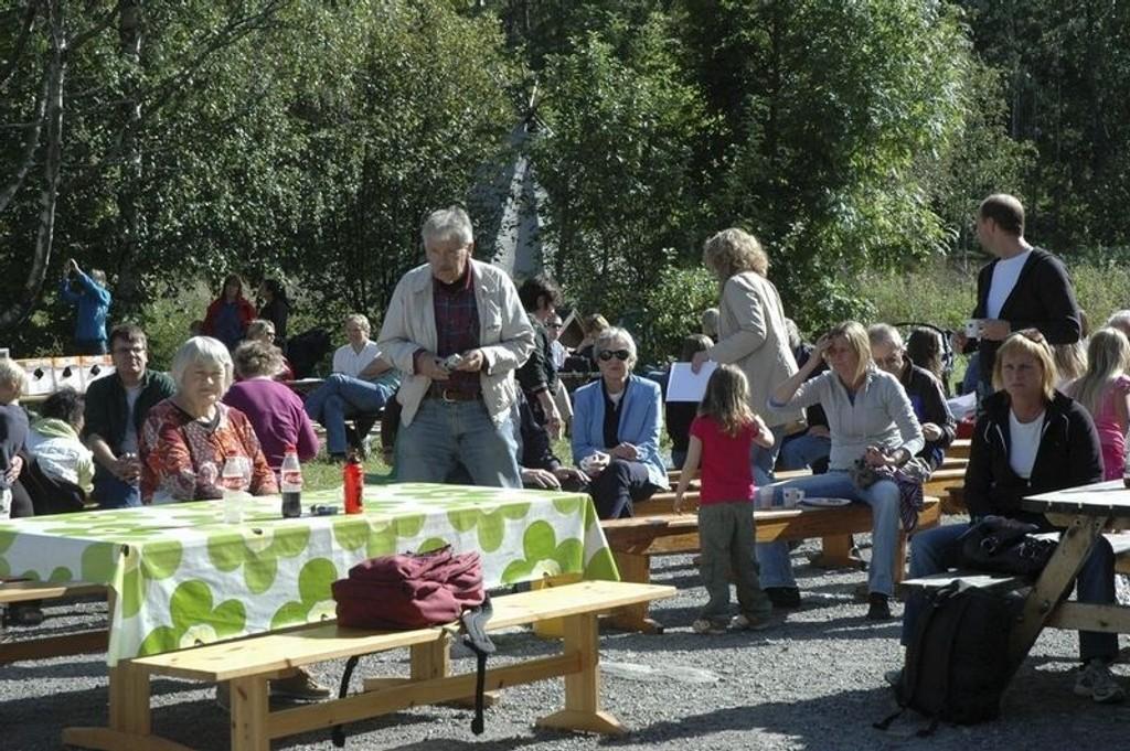 Hyggelig stemning på Østensjødagen 2007.