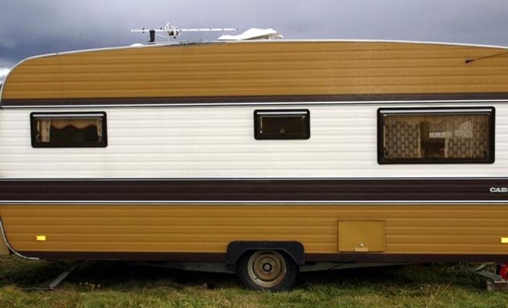 CAMPINGLIV: Dersom du ikke har fått deg bolig, er kanskje campingvogn et midlertidig alternativ?