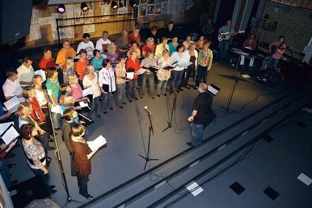 Abildsø bygdekor feirer sitt 25-årsjubileum med en stor konsert. Arkivfoto: Øystein Dahl Johansen