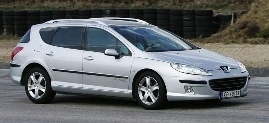 TESTET: Peugeot 407 SW