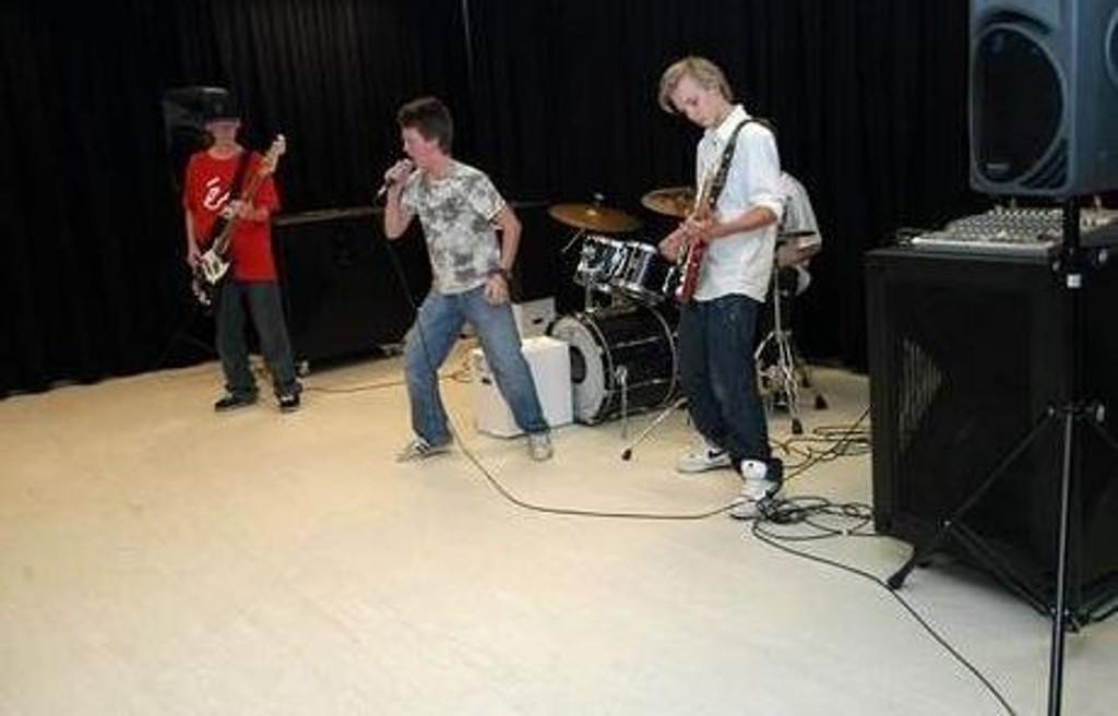 Bandet Fairplay sørget for skikkelig stemning. foto. elisabeth c. wang