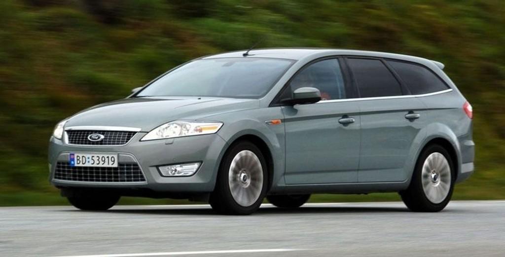 TESTET: Ford Mondeo