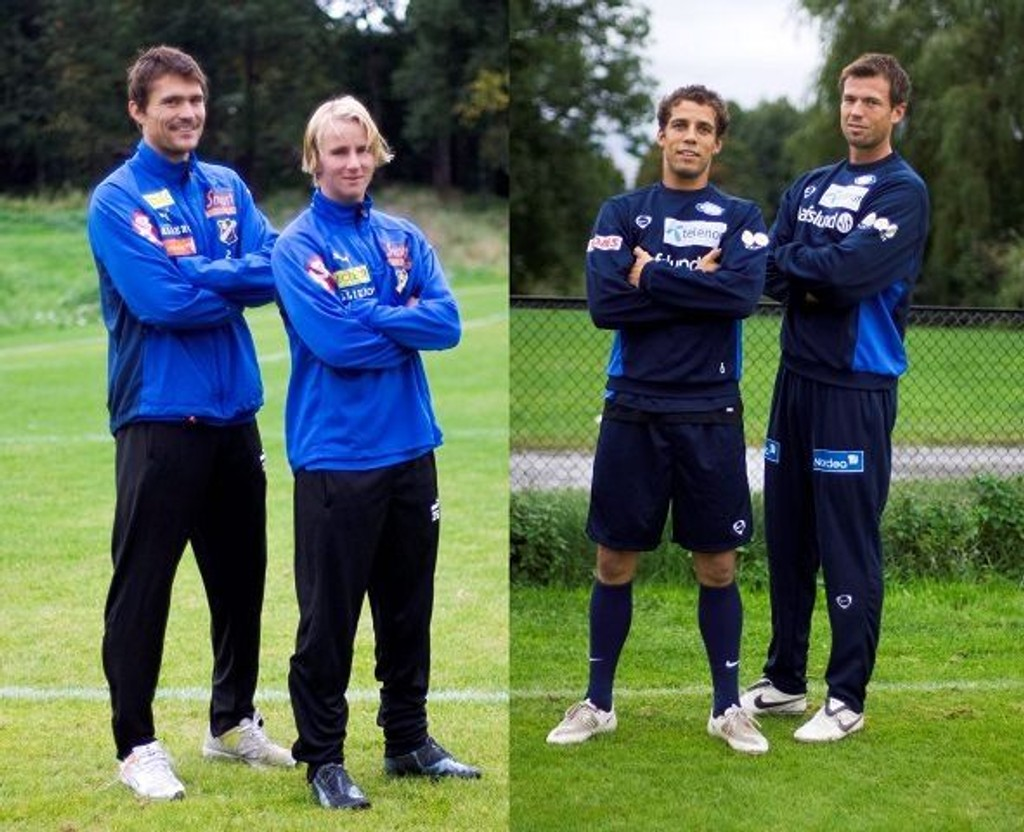 Tommy Berntsen og Endre Fotland Knudsen stilte fra Lyn, mens Freddy dos Santos og André Muri stilte fra Vålerenga.