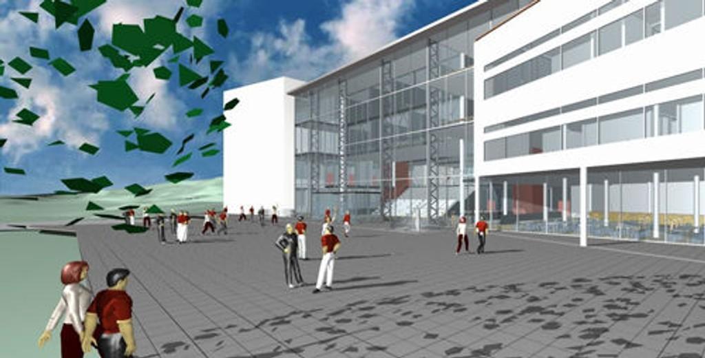Det er nå planlagt at Nydalen vgs. skal stå ferdig i 2011.