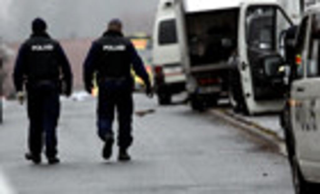 Illustrasjonsfoto av finsk politi