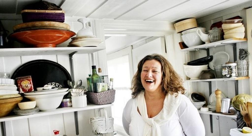 STABLINGENS KUNST: Jo flere skåler og boller, desto bedre. Alexandra Villefrance trives best med åpne løsninger