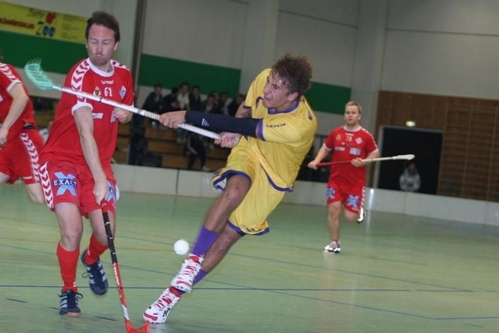 Tunets Patrick Sveen var god i tirsdagens derby i Stovnerhallen, og noterte seg til slutt for én scoring og to assist.