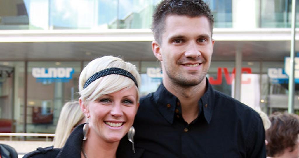 TO BARN: Kristian Kjelling og samboeren Madeleine er nybakte foreldre til nummer to.