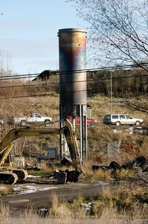 I hele 20 uker skal gassen fra den gamle fyllplassen på Grønmo brennes av.